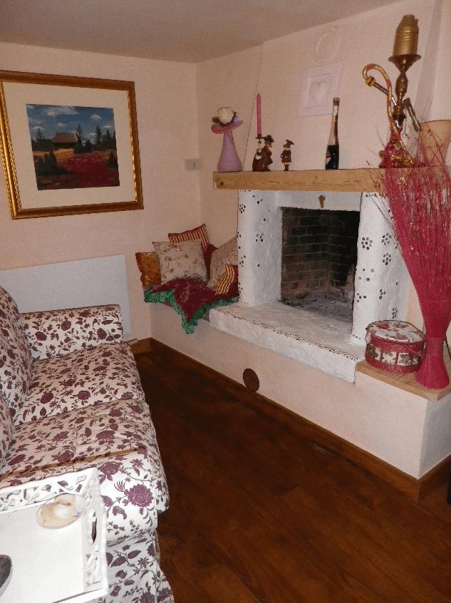 Casa dell´essenza mit Gästezimmern (das Haus des Wesentlichen)