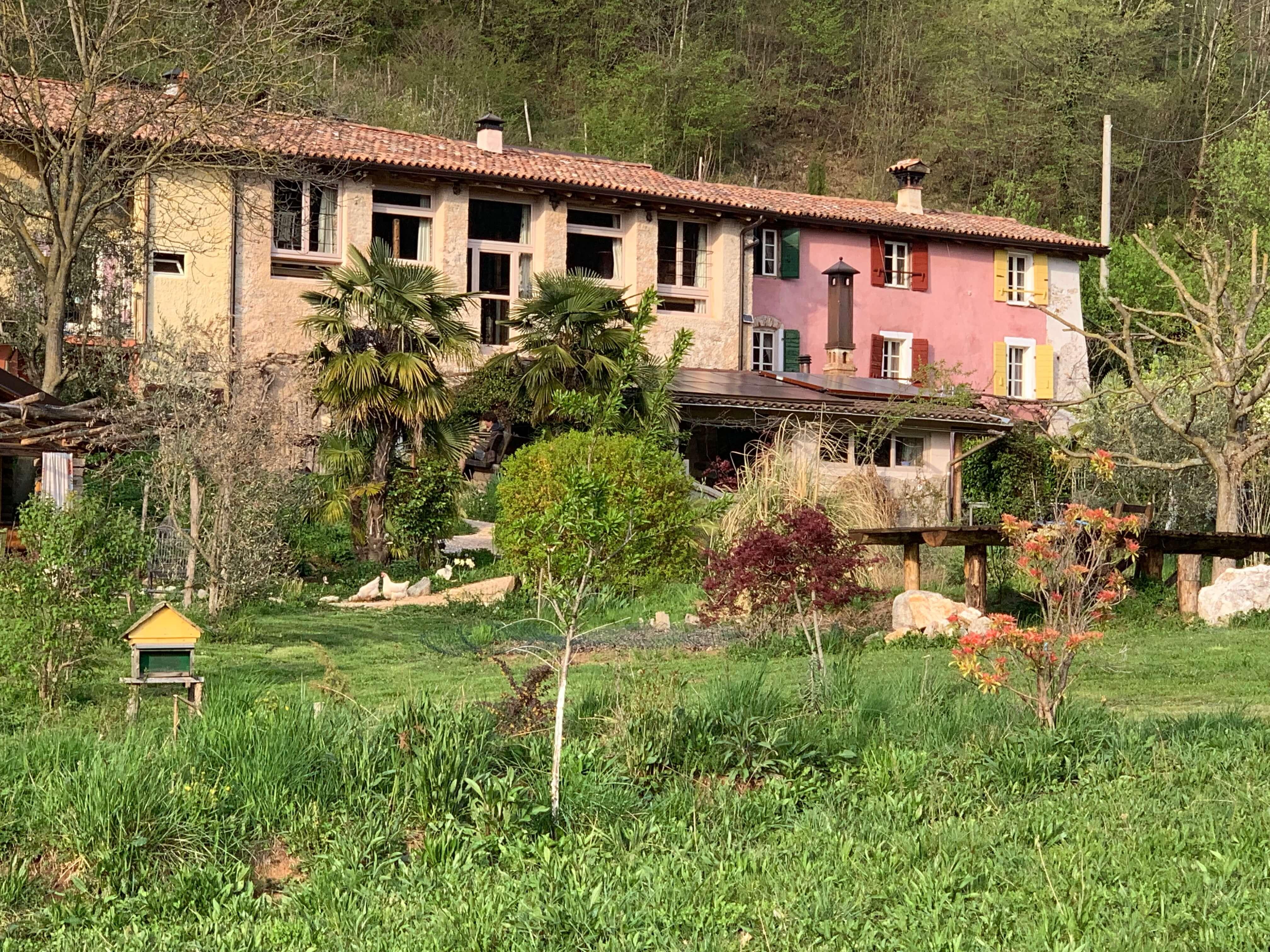 Das große Bauernhaus